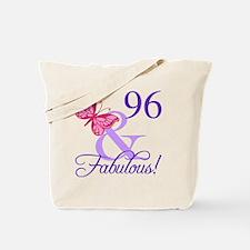 Fabulous 96th Birthday Tote Bag