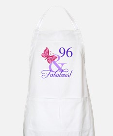 Fabulous 96th Birthday Apron