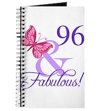 Fabulous 96th Birthday Journal