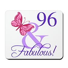 Fabulous 96th Birthday Mousepad
