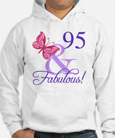Fabulous 95th Birthday Hoodie
