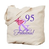 95 year old Canvas Totes