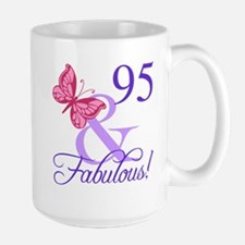 Fabulous 95th Birthday Mug