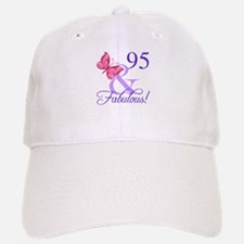 Fabulous 95th Birthday Baseball Baseball Cap