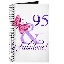 Fabulous 95th Birthday Journal
