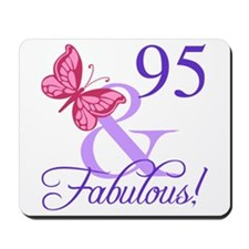 Fabulous 95th Birthday Mousepad