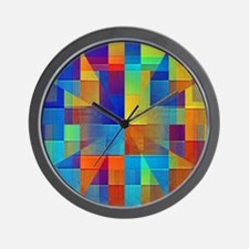 Kaleidoscope of Color Wall Clock