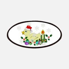Yellow Christmas Duck Patches