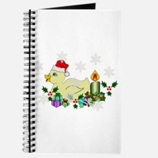 Yellow Christmas Duck Journal