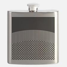 Black White Flask
