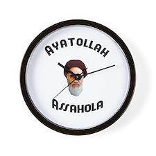 Homer's Ayatollah Assahola Wall Clock