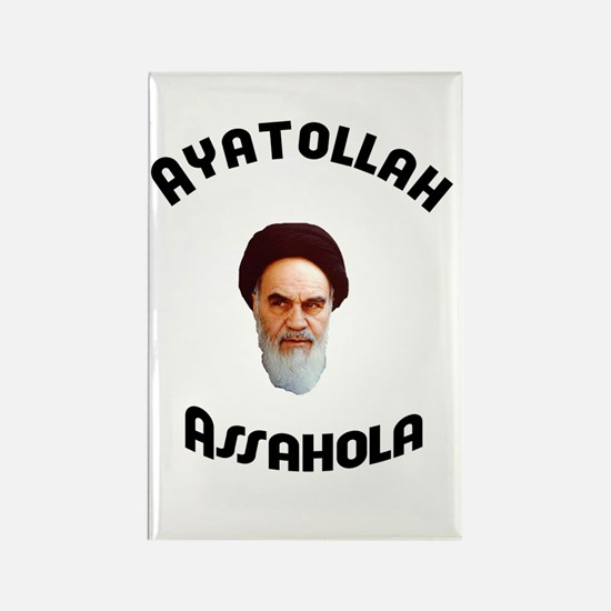 Homer's Ayatollah Assahola Rectangle Magnet