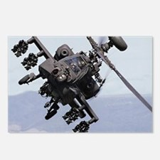 Apache Attack Helicopter Postcards (8) Army Gift