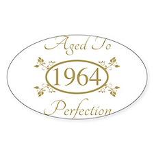 1964 Birth Year (Elegant) Decal