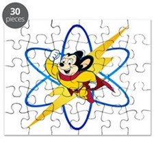 Mighty Mouse Lighting Atom Puzzle