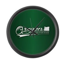 Oregon State of Mine Large Wall Clock
