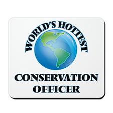 World's Hottest Conservation Officer Mousepad