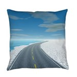 Ice Road Master Pillow