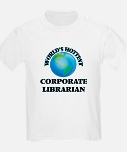 World's Hottest Corporate Librarian T-Shirt