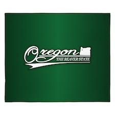 Oregon State of Mine King Duvet