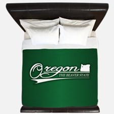 Oregon State of Mine King Duvet