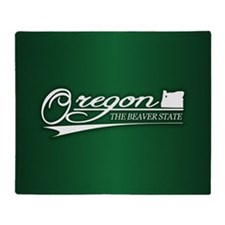 Oregon State of Mine Throw Blanket