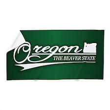 Oregon State of Mine Beach Towel