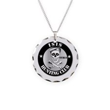 ISIS Hunting Club - Syria Necklace Circle Charm