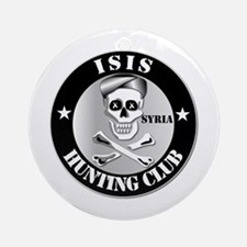 ISIS Hunting Club - Syria Ornament (Round)
