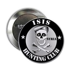 """Isis Hunting Club - Syria 2.25"""" Button"""