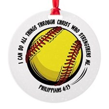 PHILIPPIANS 4:13 Ornament