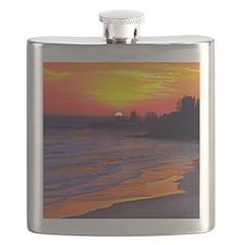 Cute Coastal Flask