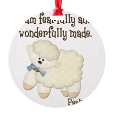 Wonderfullymade_Sheep Ornament