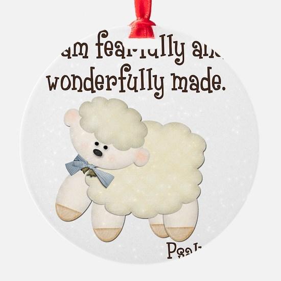 Wonderfullymade_Sheep Ornament