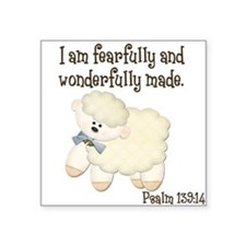 Wonderfullymade_Sheep Sticker