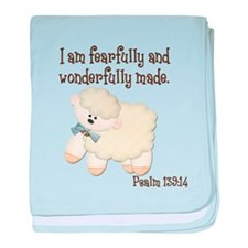 Wonderfullymade_Sheep baby blanket