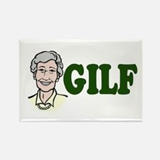 GILF just an older MILF Rectangle Magnet