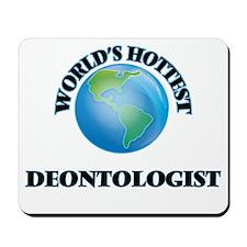 World's Hottest Deontologist Mousepad