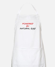 Powered by natural gas Apron