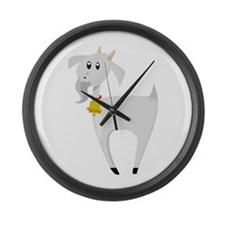 Billy Goat Large Wall Clock