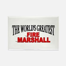 """The World's Greatest Fire Marshall"" Rectangle Mag"