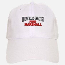"""The World's Greatest Fire Marshall"" Baseball Baseball Cap"