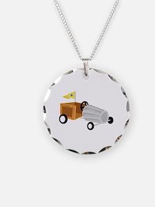 Derby Car Necklace