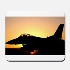 F-16 Fighting Falcon Sortie Mousepad