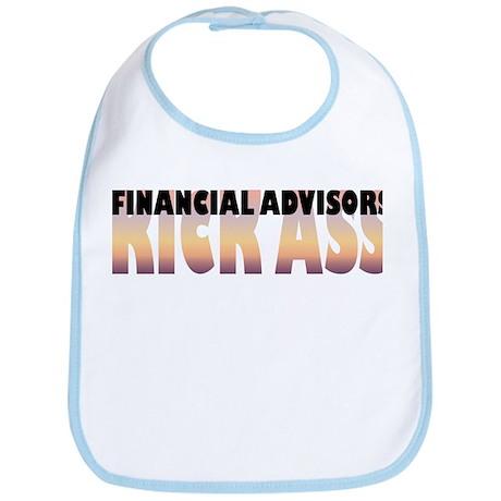 Financial Advisors Kick Ass Bib