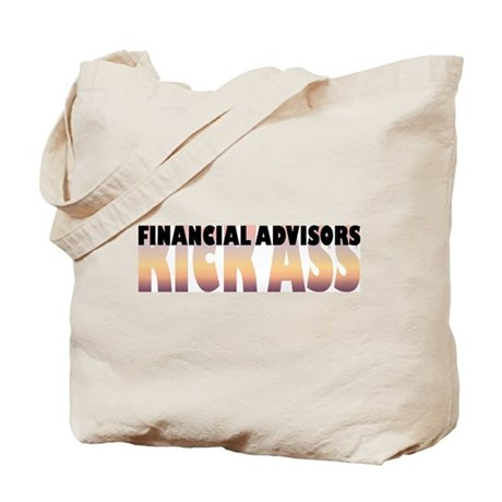 Financial Advisors Kick Ass Tote Bag