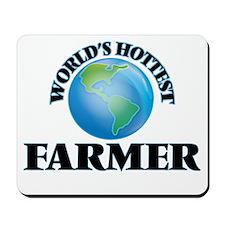 World's Hottest Farmer Mousepad