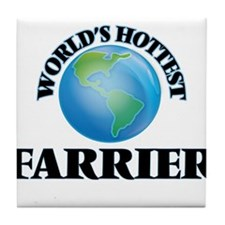 World's Hottest Farrier Tile Coaster