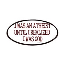 I was an atheist Patches