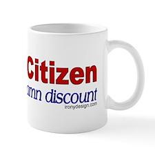 Senior Citizen Discount Mugs